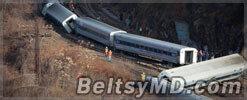 Версия следствия: в крушении поезда виноват машинист