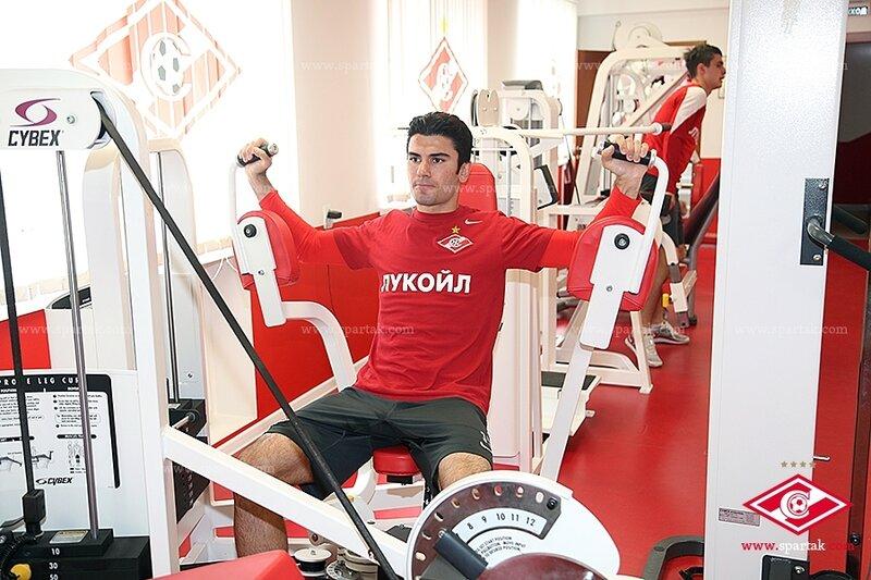 «Спартак» готовится к матчу с «Уралом»