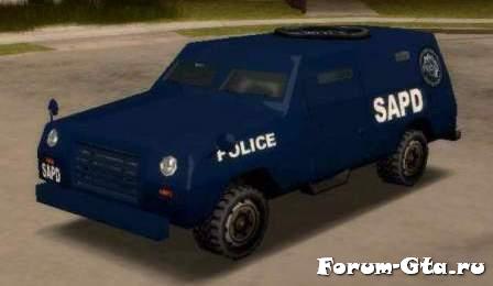 GTA San Andreas FBI Truck
