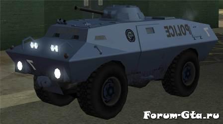 GTA San Andreas SWAT Tank