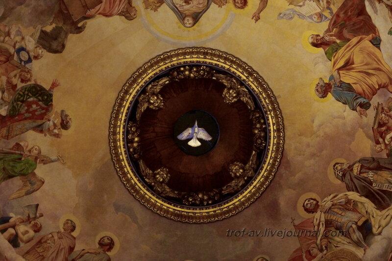 Богоматерь в окружении святых, Брюллов, Исаакиевский собор (собор преподобного Исаакия Далматского), Санкт-Петербург