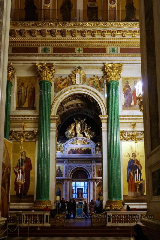 Ворота в предел Святого Александра Невского, Исаакиевский собор (собор преподобного Исаакия Далматского), Санкт-Петербург