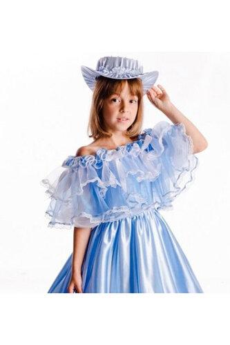 Детский карнавальный костюм Барышня народный