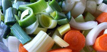 Процесс приготовления картофельного супа