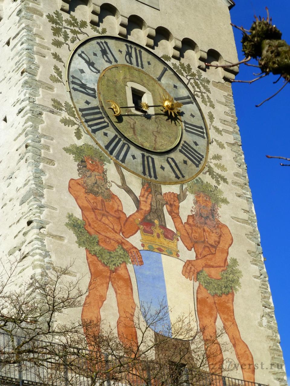 Крепостная стена и башни, Люцерн, Швейцария