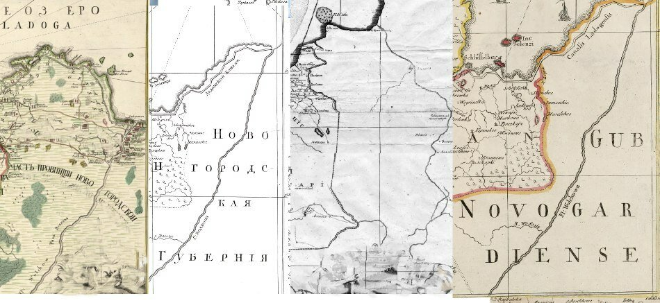 один способ карта калужской губернии 1678 из книги щепкиной московского гомеопатического центра