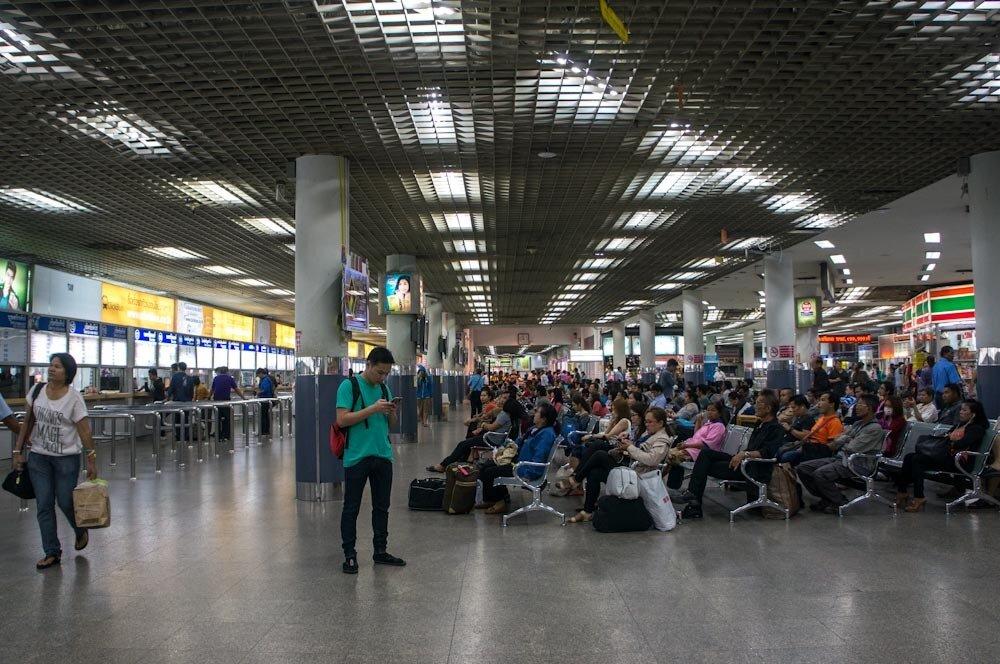 Автобусный терминал Мочит в Бангкоке