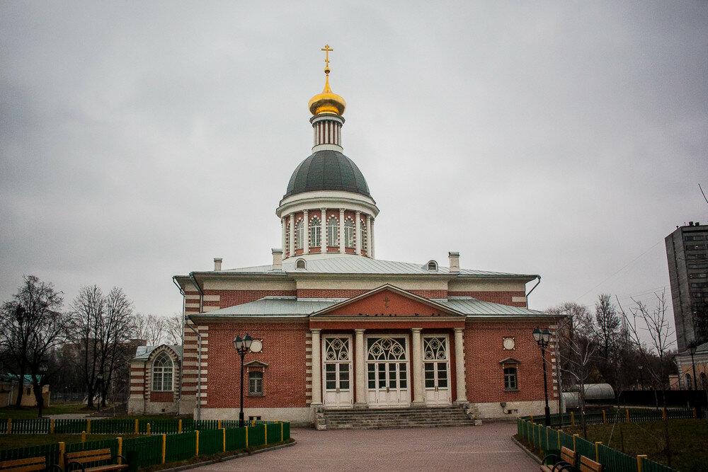Центр московского старообрядчества за рогожской заставою