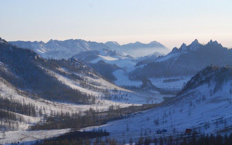 Монголия, новый год