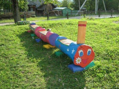 Поделки своими руками для площадки в детском саду фото фото 270