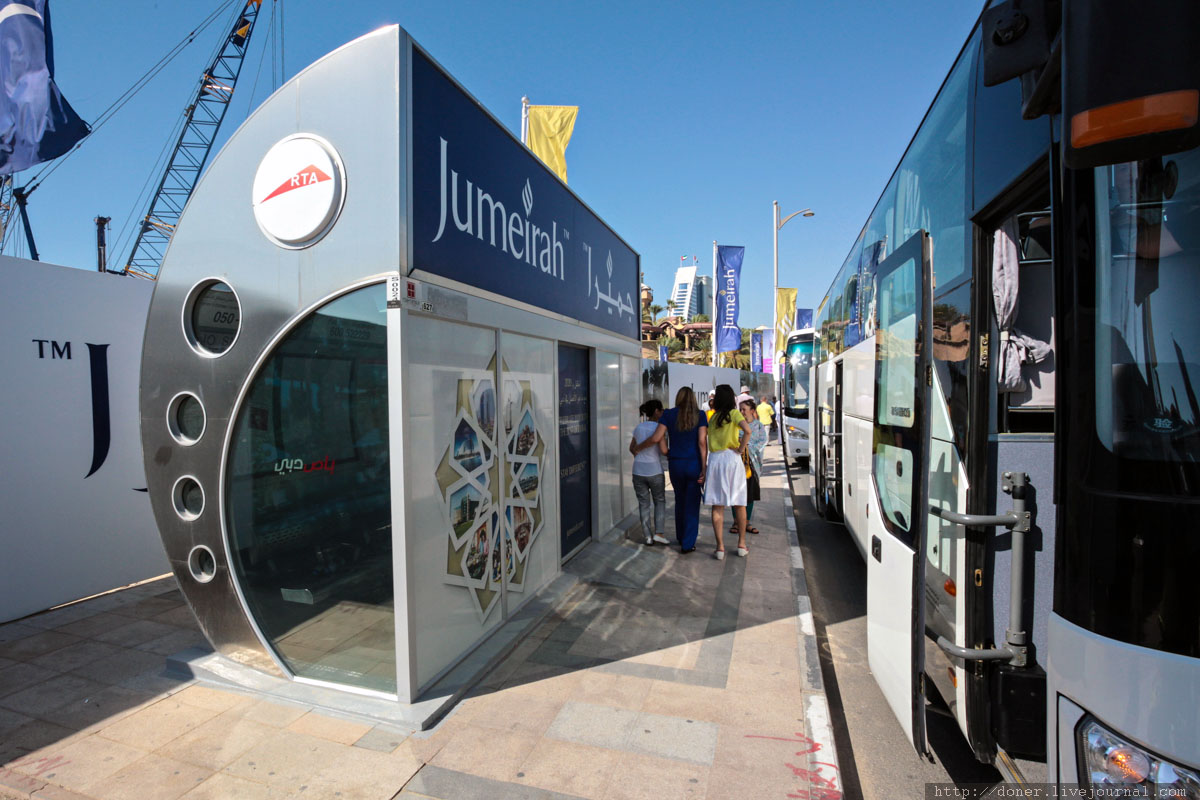 Как устроено метро в Дубаи