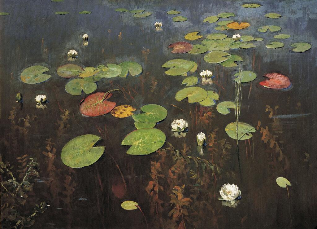 Лилии. Ненюфары. 1895, холст, масло, 95х128 см.jpg