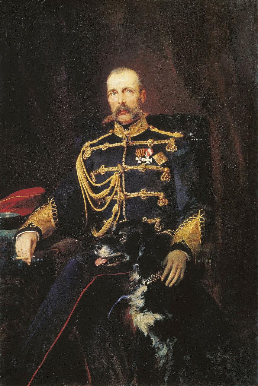 Портрет Александра II. 1881. Холст, масло. 164х108 см.jpg