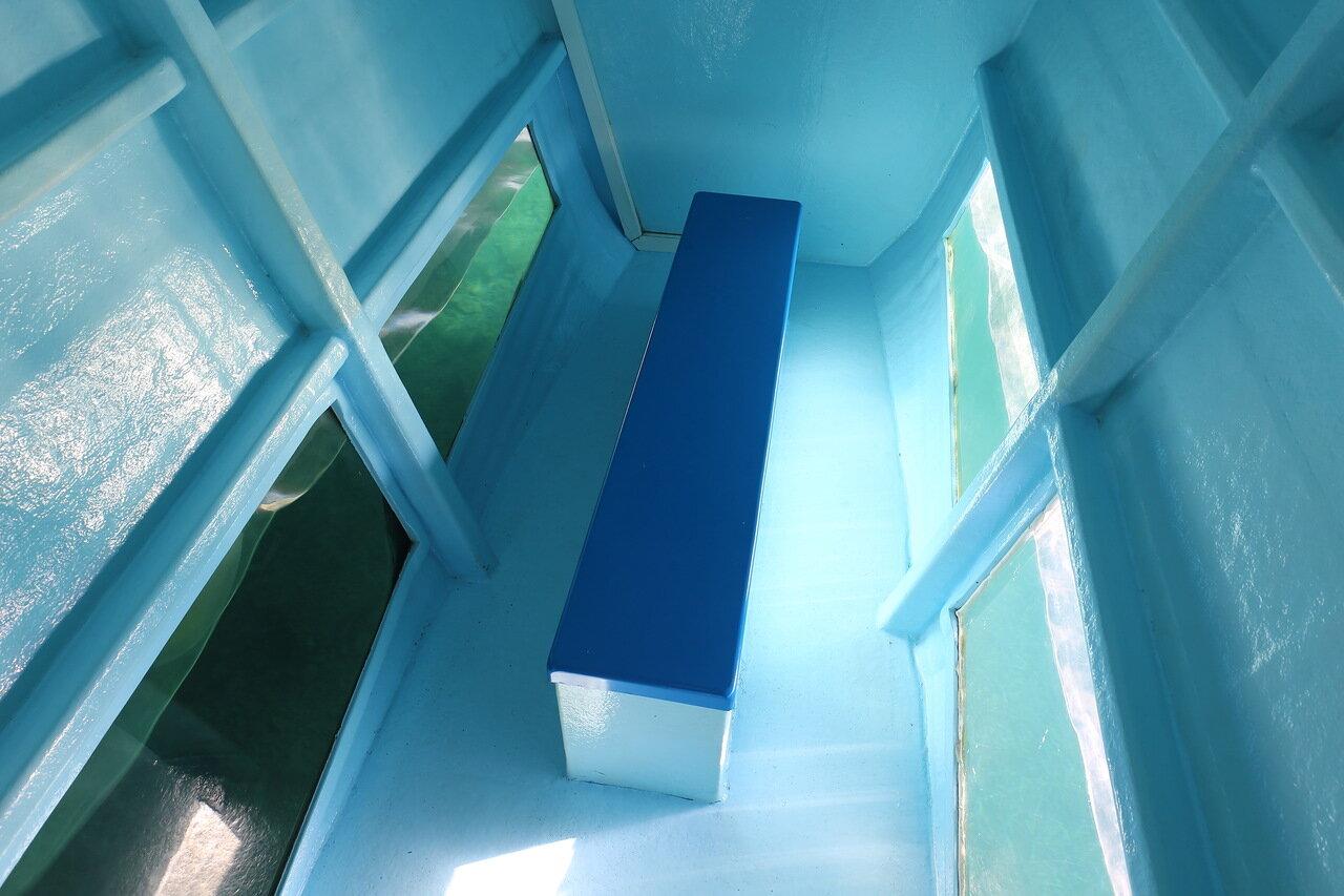 Катамаран Санта-Пола - Табарка. Подводная обзорная палуба