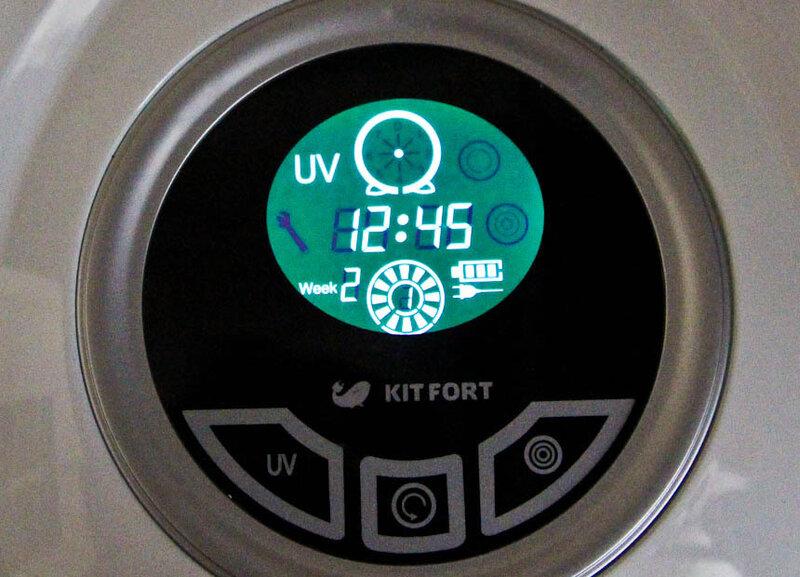 робот-пылесос от Kitfort KT-501