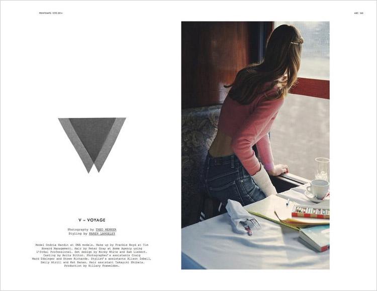 Ондриа Хардин для Double Magazine