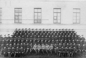 Личный состав одной из роты батальона .