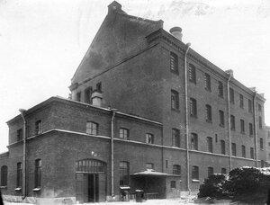 Общий вид здания тюрьмы.