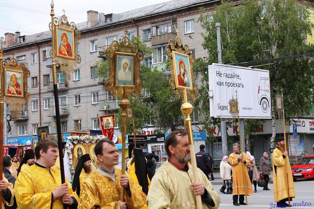 Крестный ход в Новосибирске