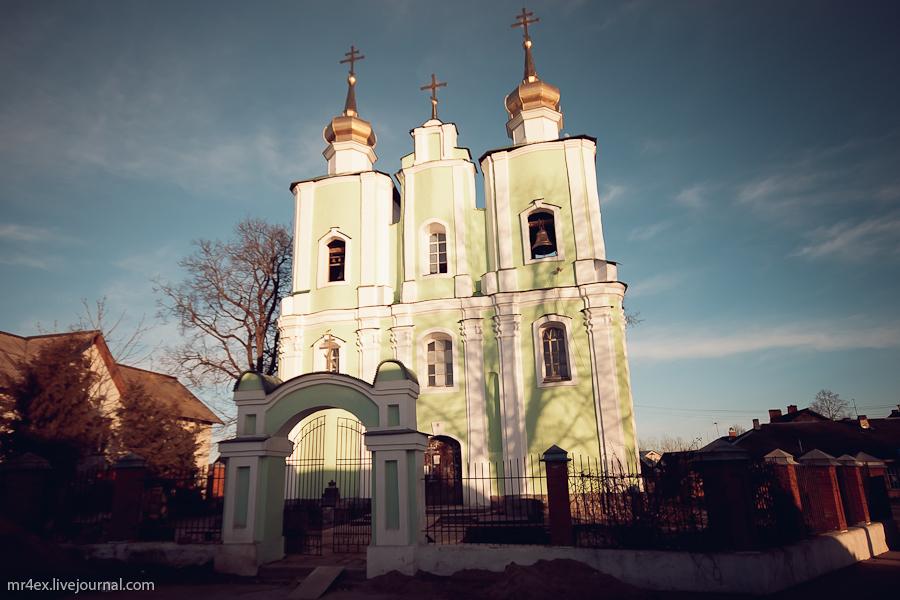 Россия, Себеж, Троицкий костел, Троицкая церковь