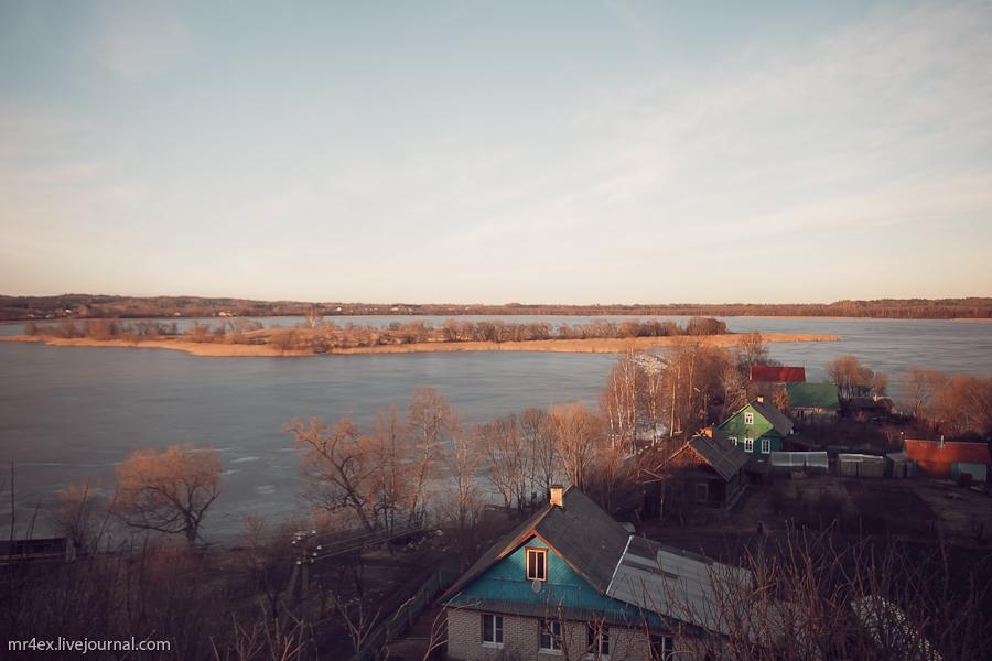 Россия, Себеж, Замковая гора в Себеже, Себежское озеро