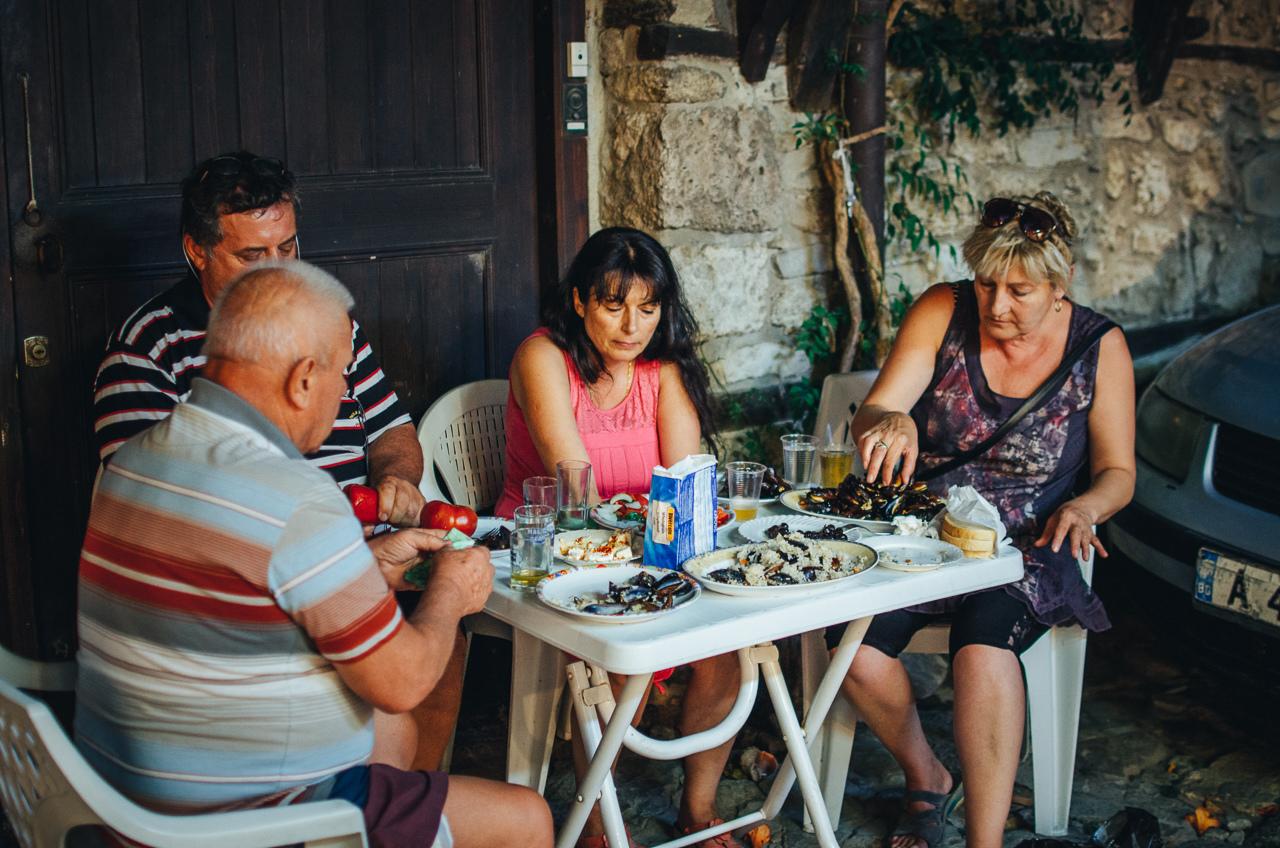 Поесть в Несебыр, Болгария