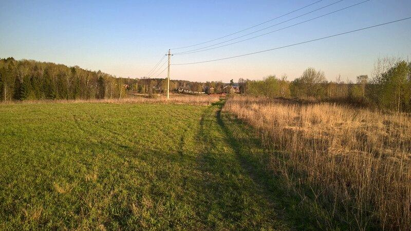 Полевая дорога около Рождественно-Суворово