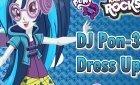 Девушки Эквестрии Диджей DJ Pon-3 одевалка