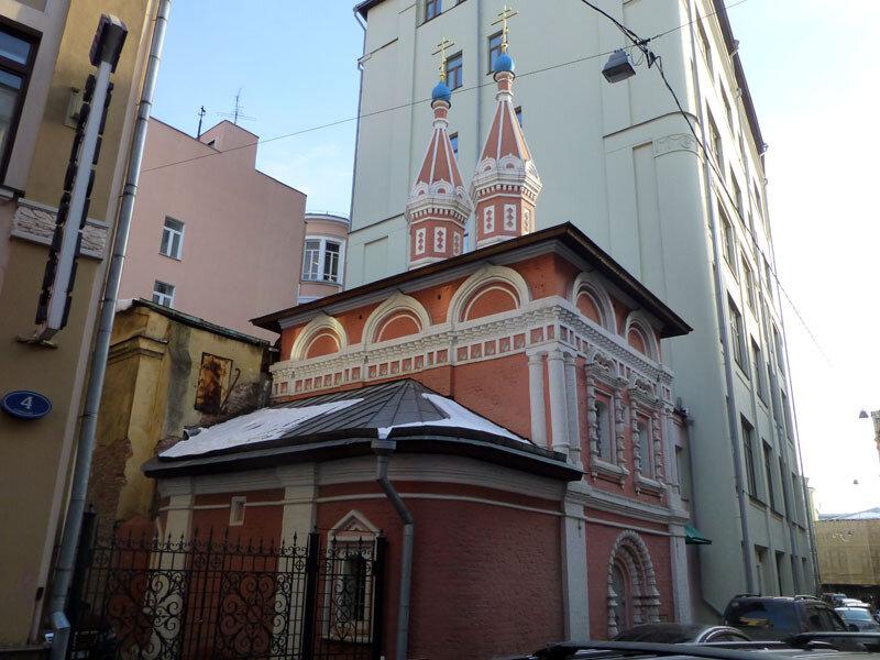Шатровая церковь Космы и Дамиана Церковь в Старых Панех