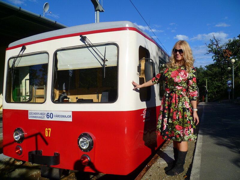 Зубчатая железная дорога в Будапеште (Cog railway in Budapest)
