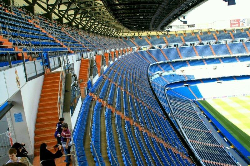 """Мадрид, стадион """"Сантьяго Бернабеу"""" (Madrid stadium """"Santiago Bernabeu"""")"""