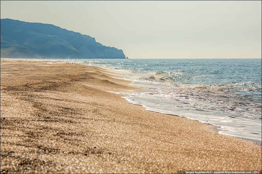 Дикое море Крыма