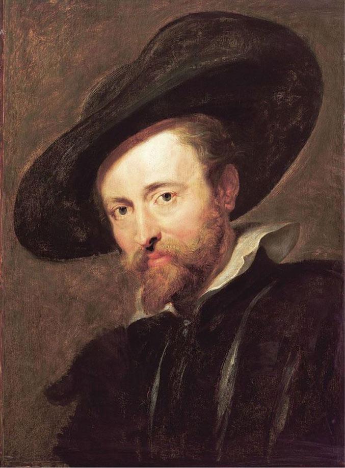selfie / Self-portrait / Автопортрет, Питер Пауль Рубенс / Pieter Paul Rubens, 1628–1630