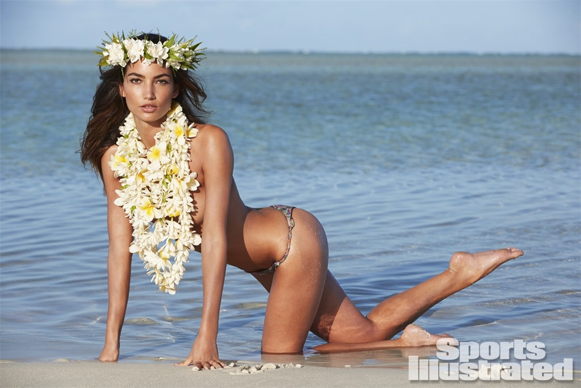 Лили Олдридж в купальниках Sports Illustrated Swimsuit 2014 - Lily Aldridge by James Macari in the Cook Islands