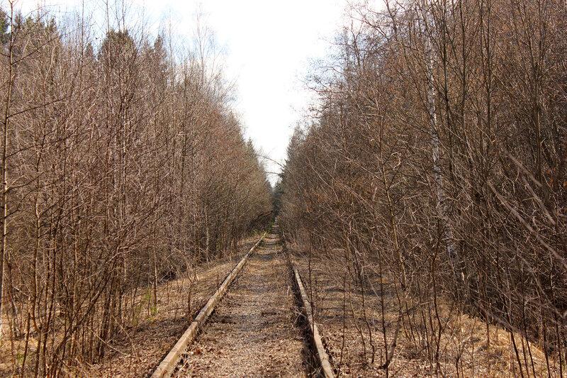 Подъездной путь от Чисмены в Сычёво