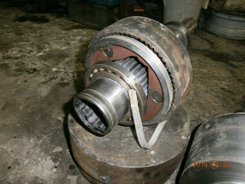Реферат: Планетарный механизм поворота трактора ДТ-75М.