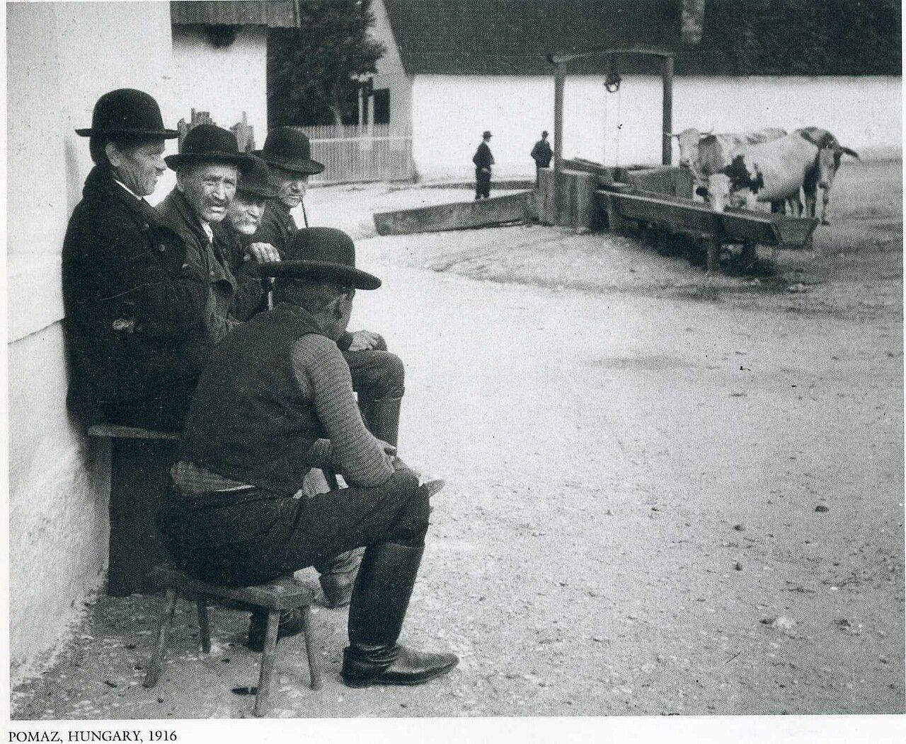 Помаз, Венгрия. 1916
