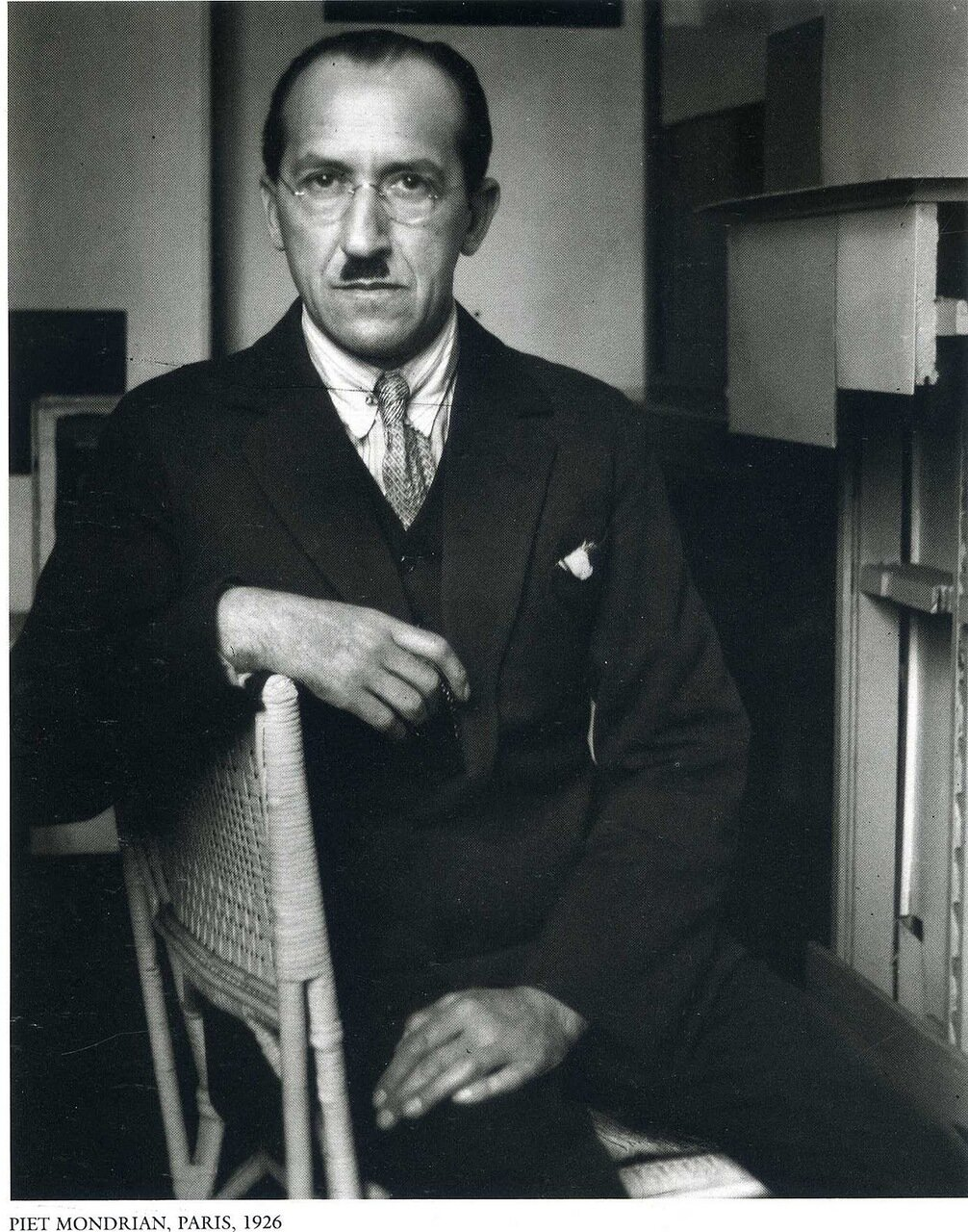 Пит Мондриан. Париж, 1926
