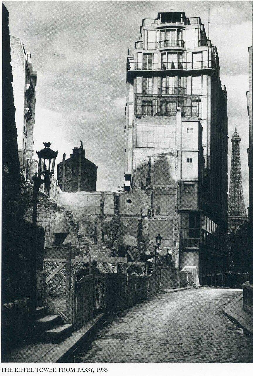 1935. Париж. Эйфелевая башня