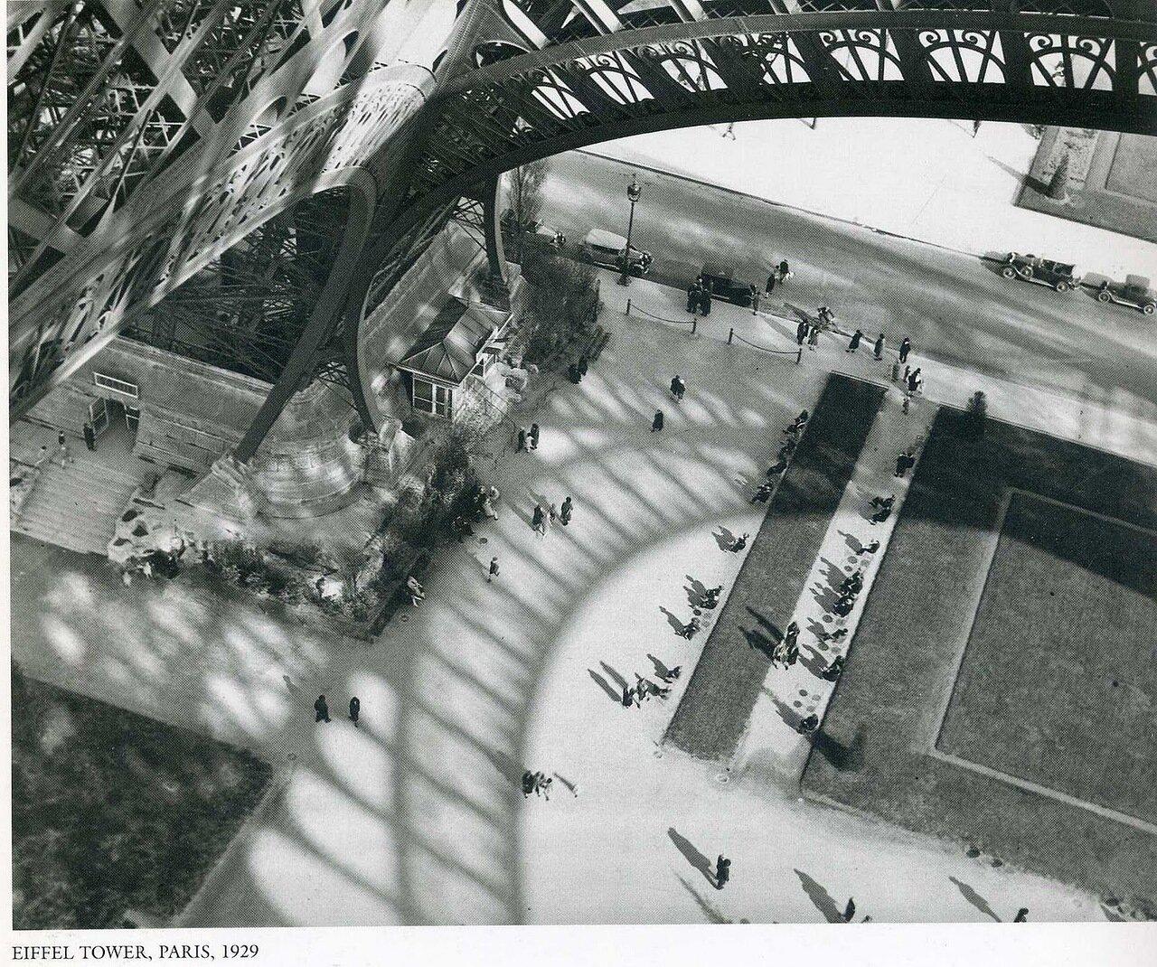 1929. Париж. Эйфелева башня