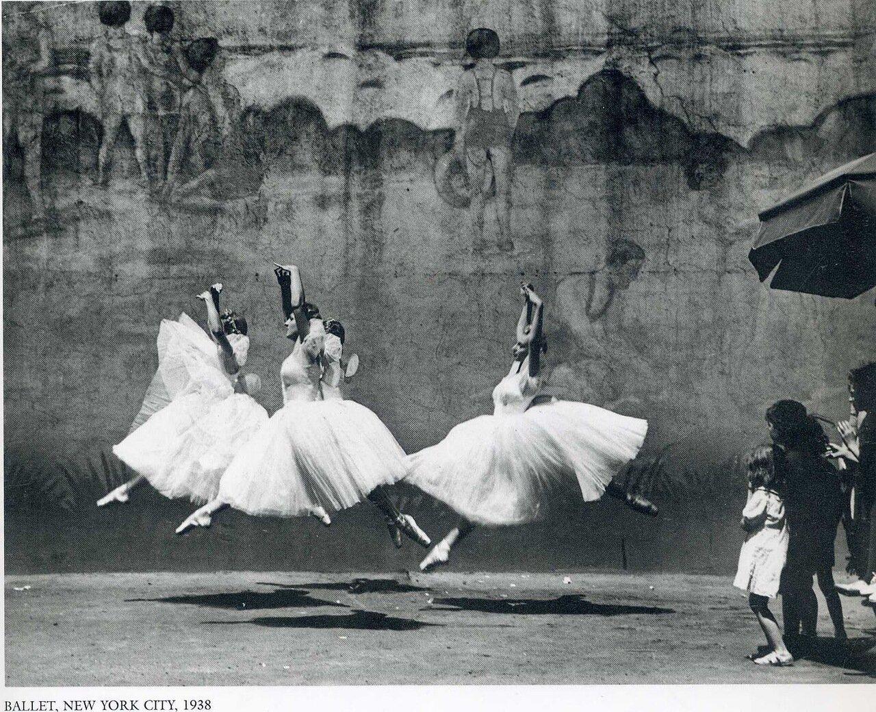 1938. Нью-Йорк, Балет