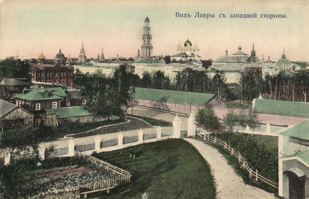 Троице-Сергиевская Лавра. Вид Лавры с западной стороны