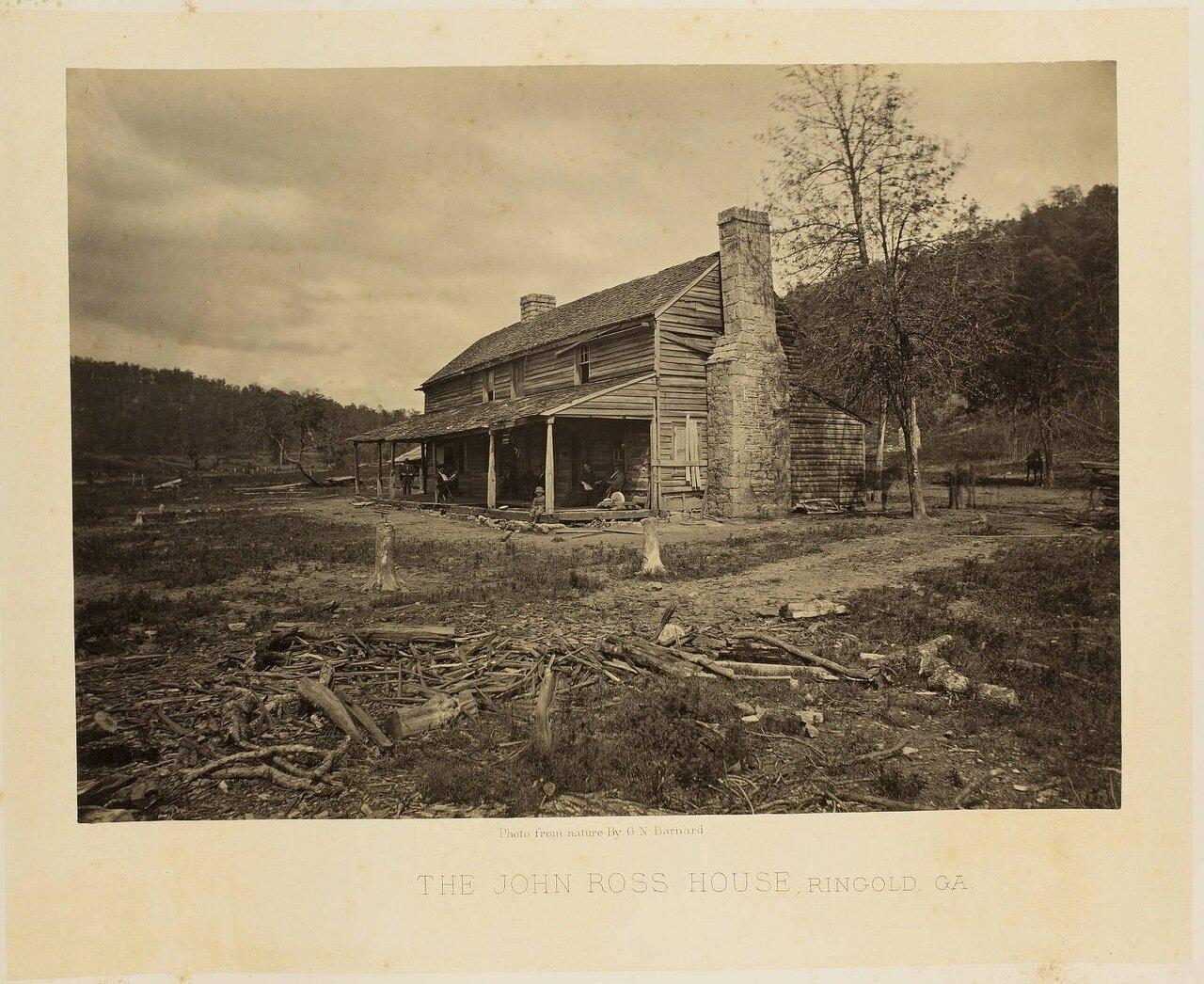 Дом Джона Росса, Рингголд, Джорджия