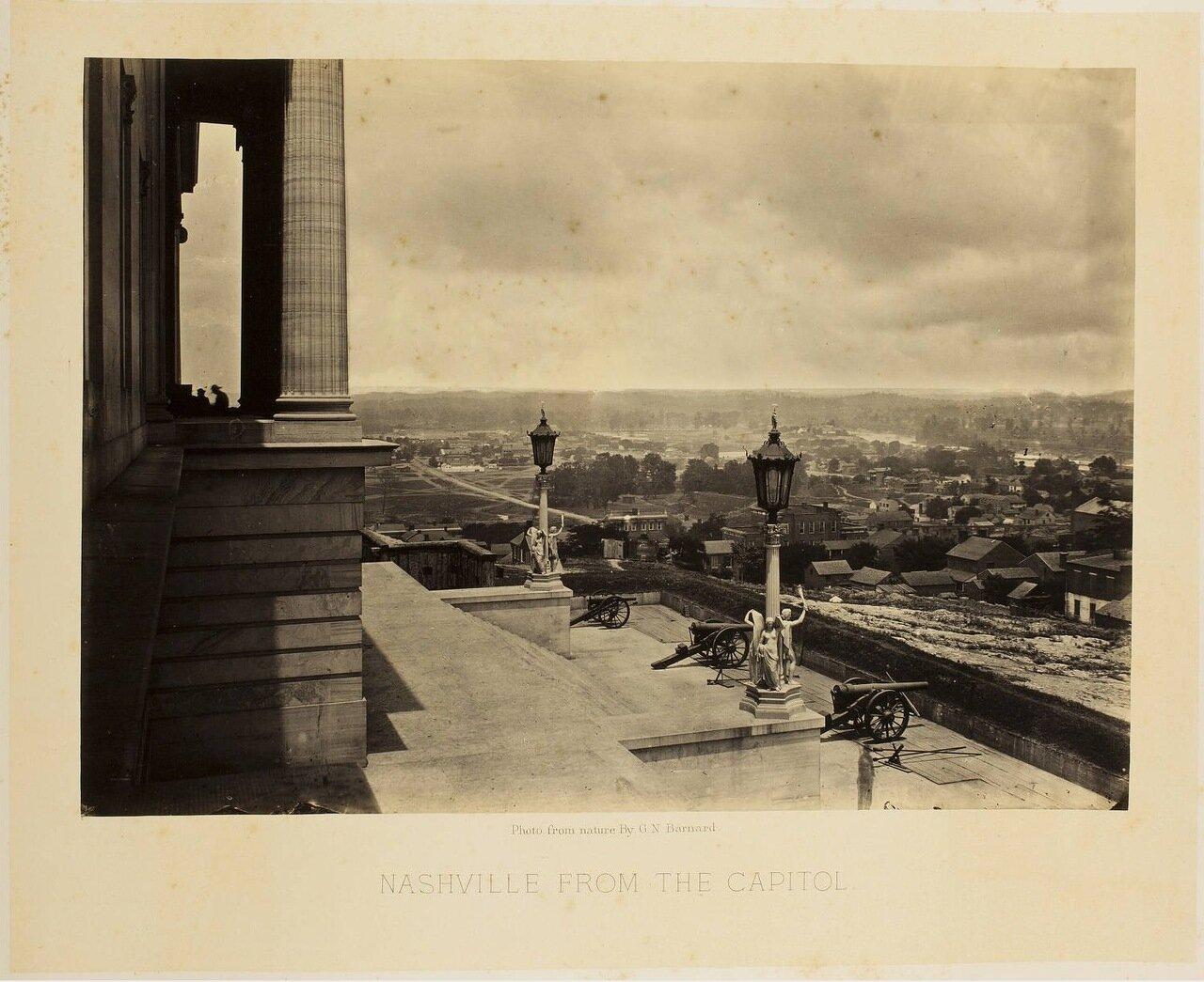 Вид Нэшвилла от Капитолия