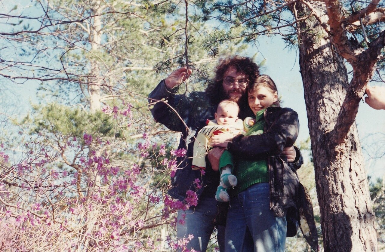 1995. Май. На Байкале