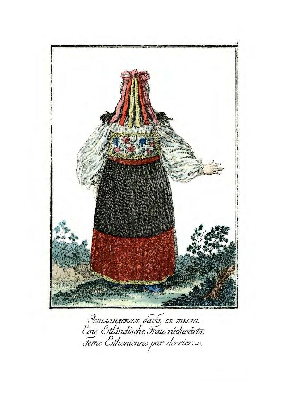 08. Эстландская баба с тыла