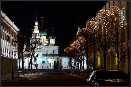 Новогодние огни Ярославля...