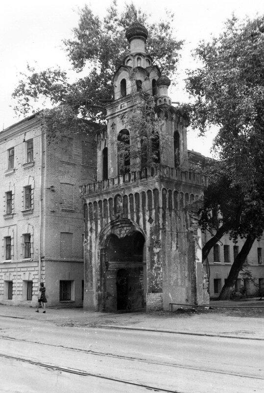 Колокольня старообрядческой церкви Святой Екатерины