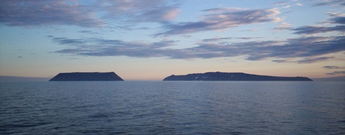 Diomede Islands, Bering Sea