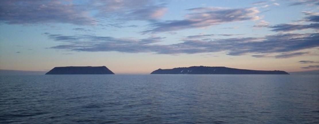 Diomede Islands, Bering Sea